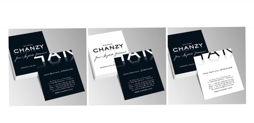 Cartes visite Chanzy