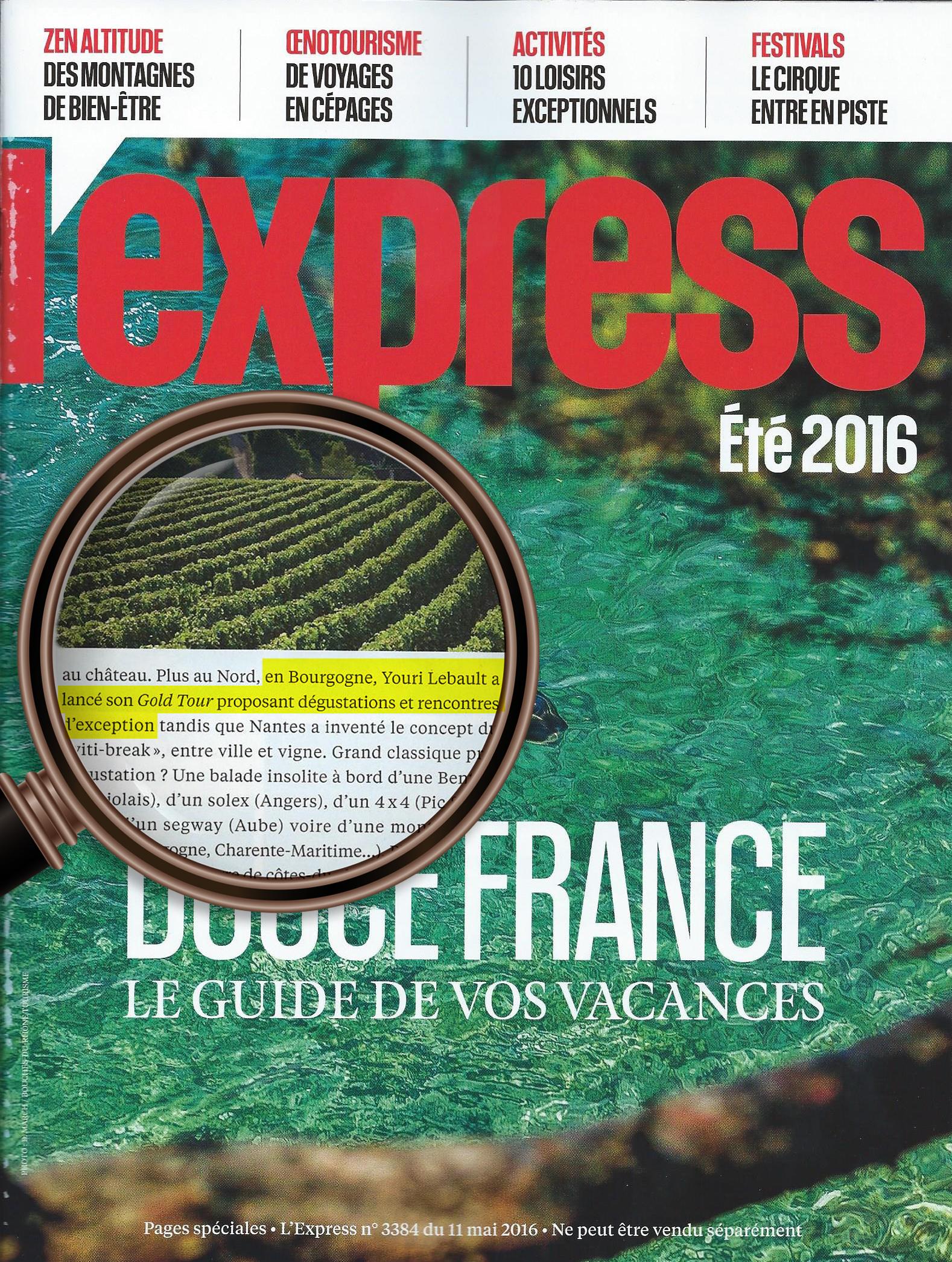 Express Hors Serie Mai 16