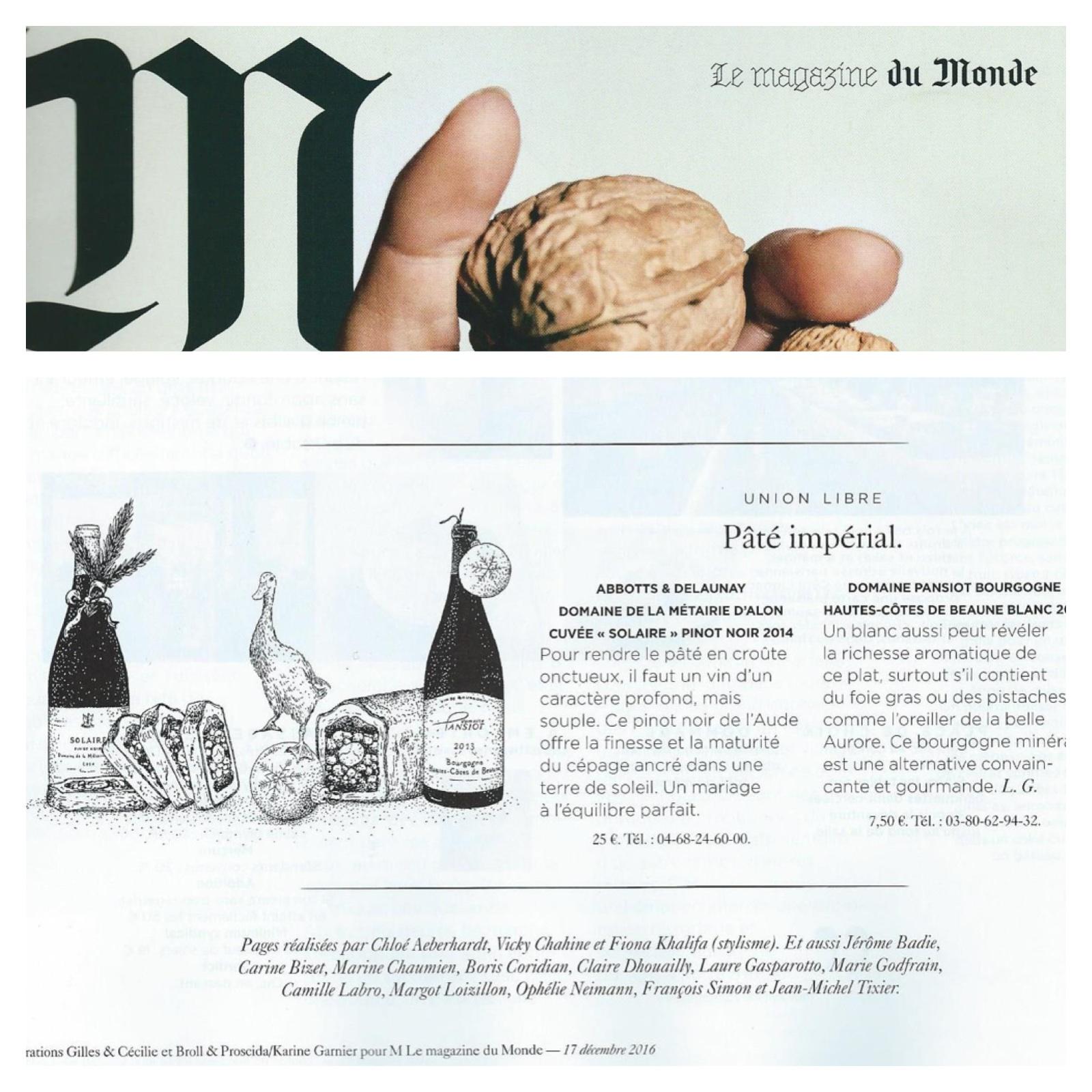 Montage Le Monde